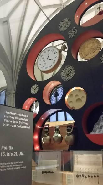 Landesmuseum exhibit, Zurich