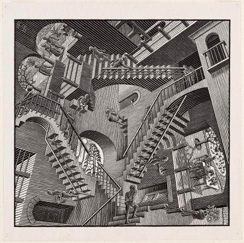 Reletiviteit, M.C. Escher