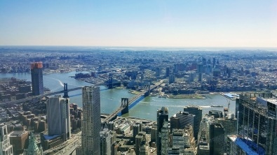 NYC Skyline, from Freedom Tower