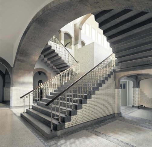 stairwell in Lorentz HBS (📷: Gerrit Schreurs)
